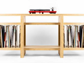 MALHERBE EDITION - meuble vinyles heroes - Mueble Tv Hi Fi