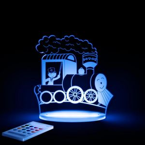 ALOKA SLEEPY LIGHTS - train - Lámpara Para Dormir Para Niño
