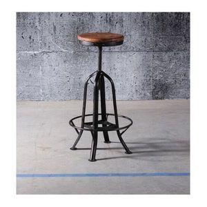 Mathi Design - tabouret industriel manufacture - Taburete De Bar