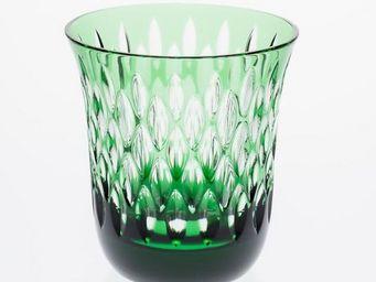 Cristallerie de Montbronn - flamme - Vaso