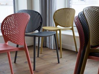 BELIANI - chaise de salle à manger - Silla De Jardín