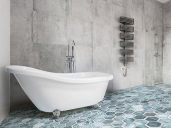 BELIANI - baignoire - Bañera Con Pies