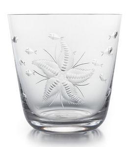 Rotter Glas - -sealife - Vaso