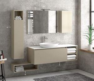 ITAL BAINS DESIGN - space 135 laque - Mueble De Cuarto De Baño