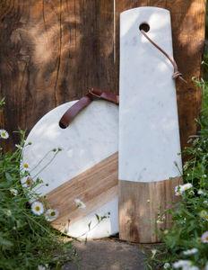 BE HOME - marbre - Tabla De Quesos