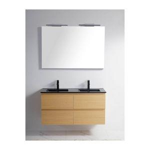 Rue du Bain - meuble double-vasque 1434908 - Mueble De Baño Dos Senos