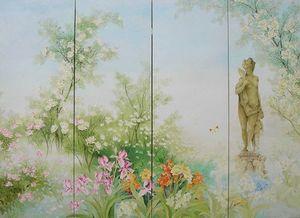 Fresque Vert -  - Biombo