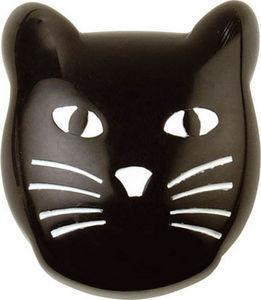 L'AGAPE - bouton de tiroir chat noir - Tirador Para Mueble De Niño