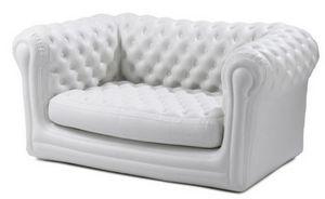 BLOFIELD - 2-seater stone white - Sofá Hinchable