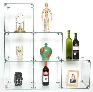 Eden Shop Equipment - glass display cube - Expositor