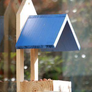 Wildlife world - window feeder blue - Comedero De Pájaros