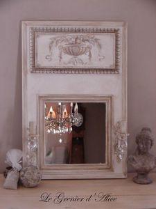 Le Grenier d'Alice - miroir03 - Espejo Con Luz
