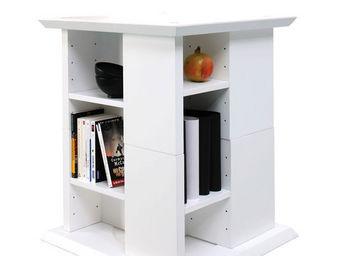 Miliboo - u2ydd bout de canape blanche - Biblioteca