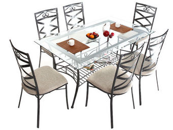 Miliboo - venezia table manger - Mesa De Comedor Rectangular