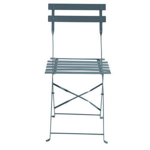 MAISONS DU MONDE - lot de 2 chaises grises guinguette - Silla De Jardín