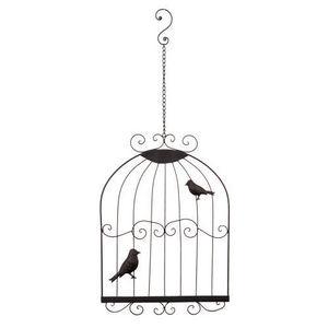 MAISONS DU MONDE - déco murale cage birdies rusty - Decoración De Pared