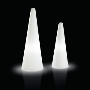 Mathi Design - cone lumineux d'extérieur - Columna Luminosa