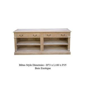 DECO PRIVE - meuble tv en bois ceruse bibus new - Mueble Tv Hi Fi