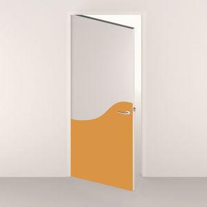 Spm International - 1/2 porte décorative - monocouleur - Puerta De Comunicación Maciza