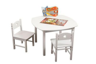 Miliboo - Mesa para niño-Miliboo-ETOILE table + 2 chaises