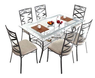 Miliboo - Mesa de comedor rectangular-Miliboo-VENEZIA TABLE MANGER