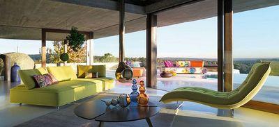 ROCHE BOBOIS - Sofá para jardín-ROCHE BOBOIS-Escapade outdoor