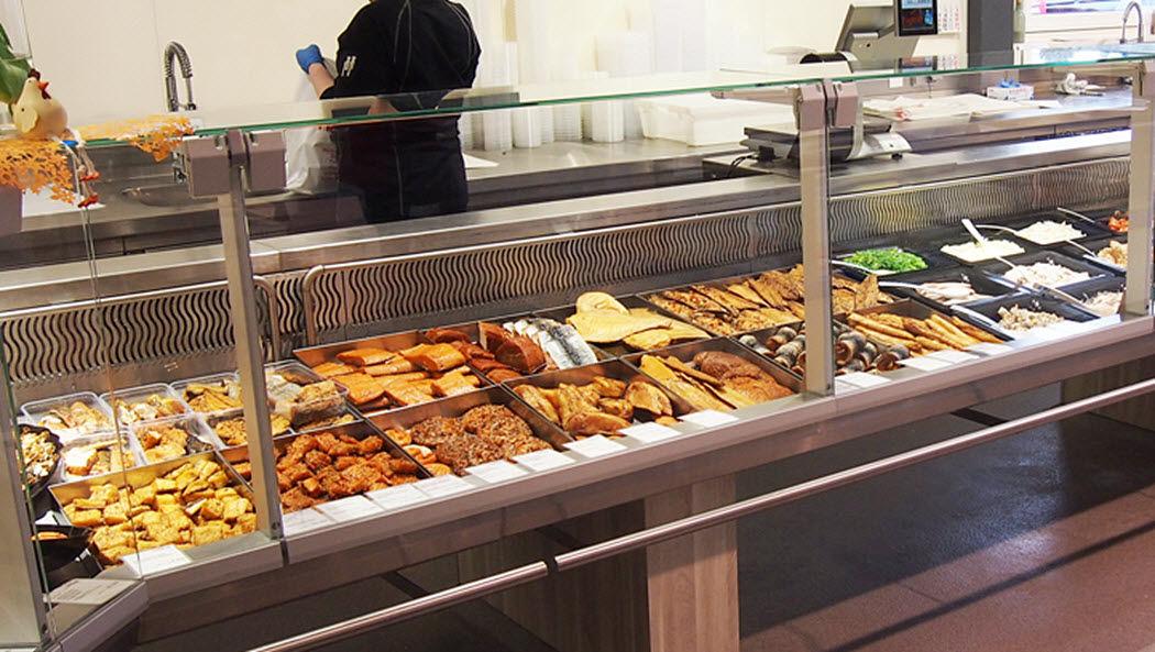 TOURNUS EQUIPEMENT Bancarella di pesce Set da cucina Attrezzatura della cucina  |