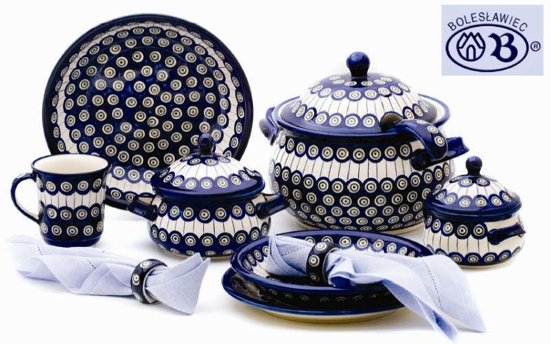 Boleslawiec Servizio da tavola Servizi di piatti Stoviglie  | Esotico