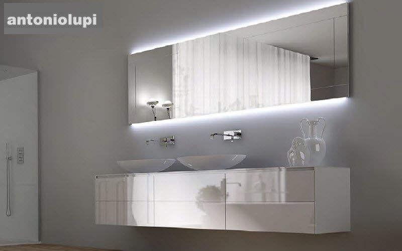 Antonio Lupi Mobile con doppio lavabo Mobili da bagno Bagno Sanitari Bagno   Design Contemporaneo