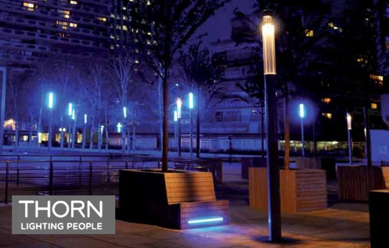 Thorn Lighting Lampione Lampioni e lampade per esterni Illuminazione Esterno Spazio urbano   Design Contemporaneo
