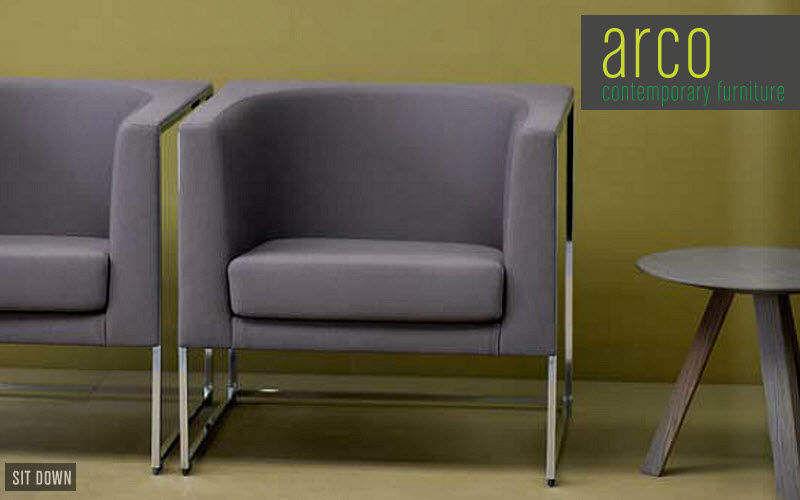 Arco Sedia per sala d'attesa Sedie e poltrone per ufficio Ufficio Luogo di lavoro | Design Contemporaneo