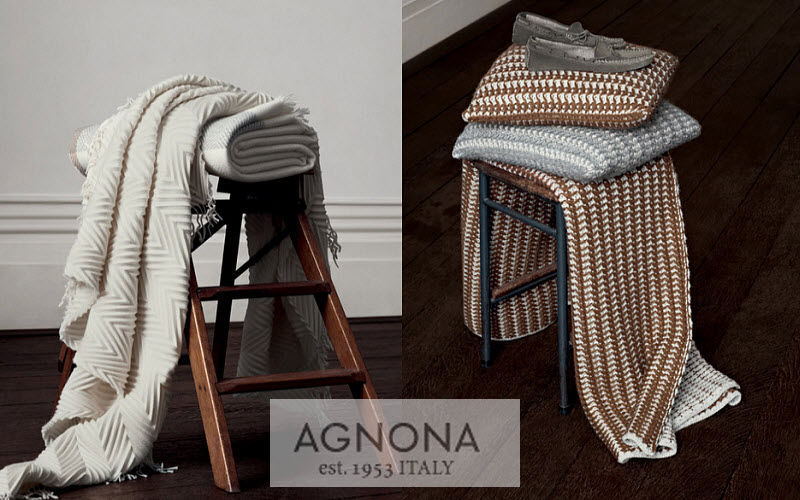Agnona Coperta Copriletti e plaid Biancheria  |