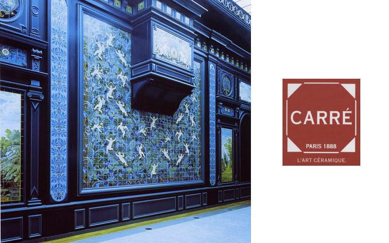 Carre Pannello di ceramica Piastrelle da parete Pareti & Soffitti  |