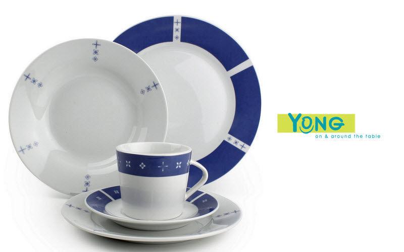 Yong Servizio da tavola Servizi di piatti Stoviglie  |