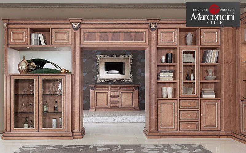Marconcini Stile Biblioteca su misura Librerie Armadi, Cassettoni e Librerie  |