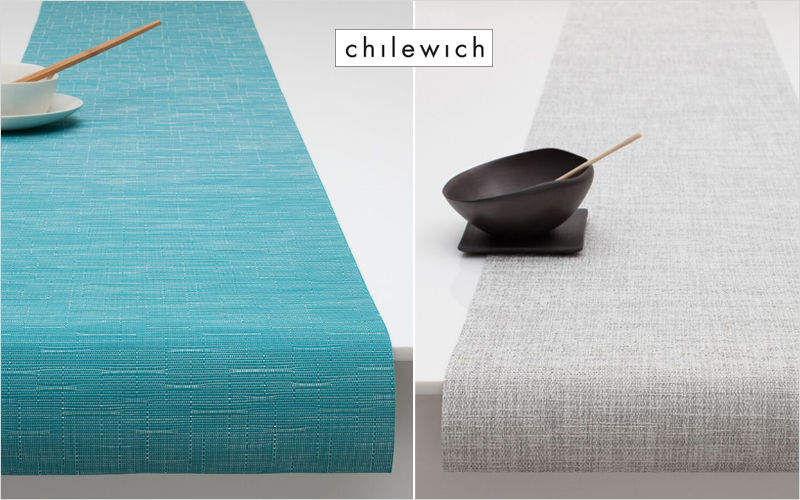 CHILEWICH Striscia da tavolo Tovaglie Biancheria da Tavola  |