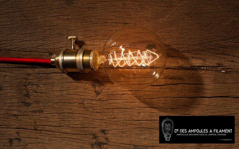 COMPAGNIE DES AMPOULES A FILAMENT Luz lampadina a incandescenza Elettricità Illuminazione Interno  |