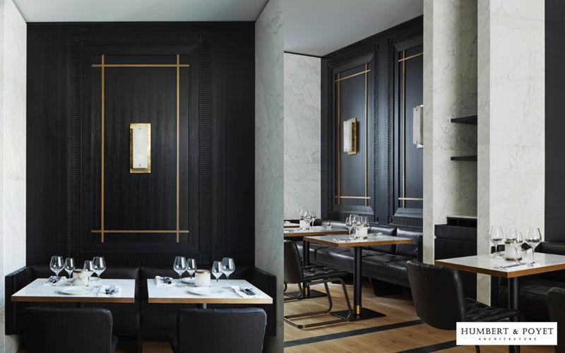 Humbert & Poyet Idee: sale ristorante albergo Realizzazioni Bar & Hotel Tavoli e Mobili Vari   