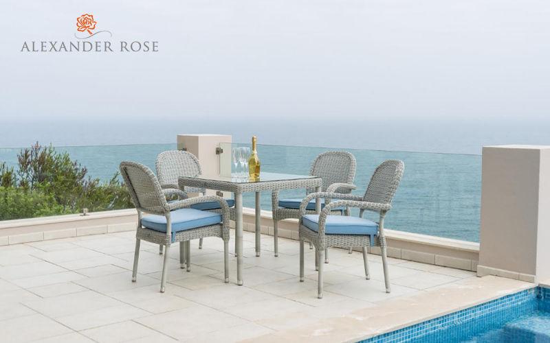 Alexander Rose Poltrona da giardino sovrapponibile Poltrone per esterni Giardino Arredo  |