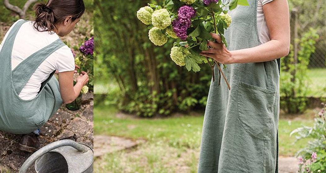 Couleur Chanvre Grembiule da giardino Giardinaggio Varie Giardino  |