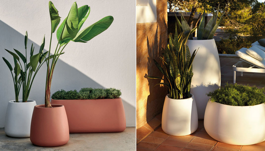 GANDIA BLASCO Coprivaso Vasi da giardino Giardino Vasi Giardino-Piscina | Design Contemporaneo