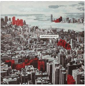 KOKOON DESIGN - toile murale imprimée view - Quadro Decorativo