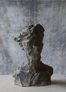 Sylvie Falconnier Scultura testa umana