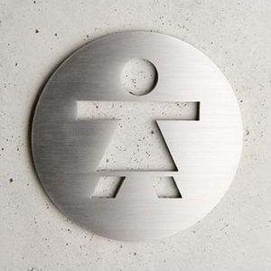 Atelier Number Studio Targa segnaletica