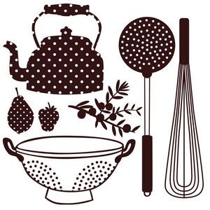 ART STICKER - sticker vaisselle et accessoires de cuisine - Decalcomanie