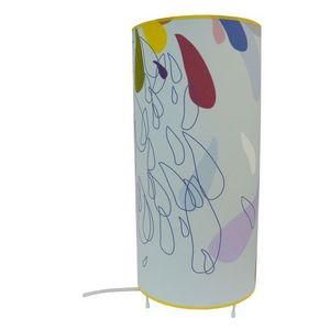 ATELIER R.BERNIER - lampe à poser pluie d'été - Lampada Da Tavolo
