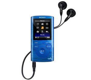 SONY - nwz-e383 bleu - 4 go - lecteur mp3 - Mp3