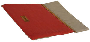 ZOLUX - couette country rouge 75x55x4cm - Cesta Cane