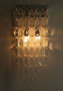Art Et Floritude - pluie de cristal - Lampada Da Parete