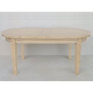 ARTI MEUBLES - table ovale toronto - Tavolo Da Pranzo Ovale